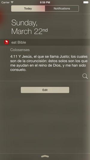 Biblia Eat Bible Abiertas Dos Biblias Im App Store