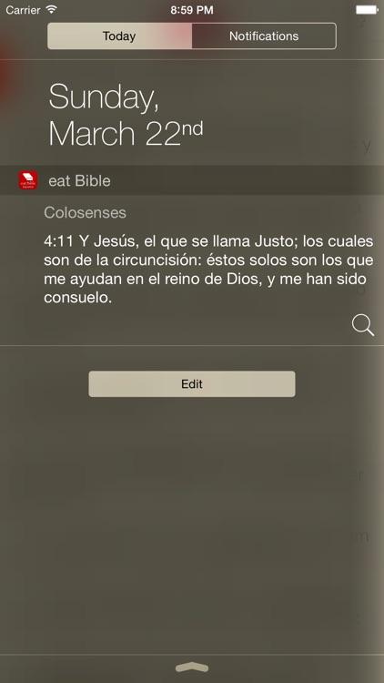 Biblia ~ eat Bible, abiertas dos biblias screenshot-3