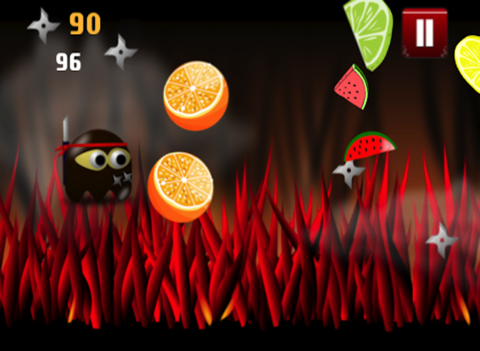 Ninja Chops It Up Game: Chopping Around The World with a Broken Sword for Eternity - Infinity Swift Mania & No Blood-ipad-3