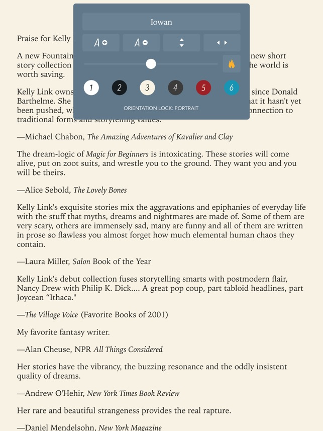 Gerty - eBook reader for epub, journal, notes, photos and