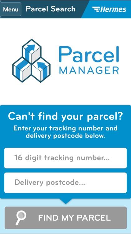 Hermes Parcel Manager