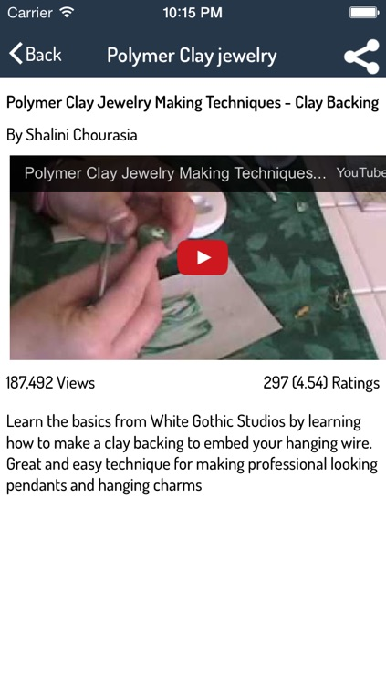 Polymer Clay Canes Guide screenshot-2