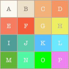2048 Alphabet Multiple Mode