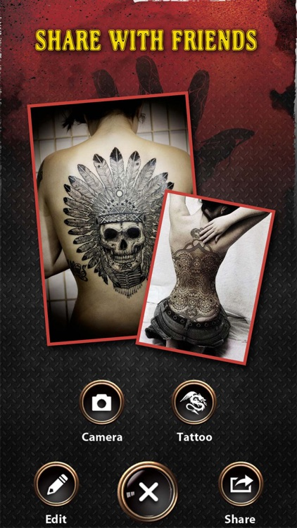 Tattoo Designer HD - Selfie Photo Maker to add art inked on yr body screenshot-4
