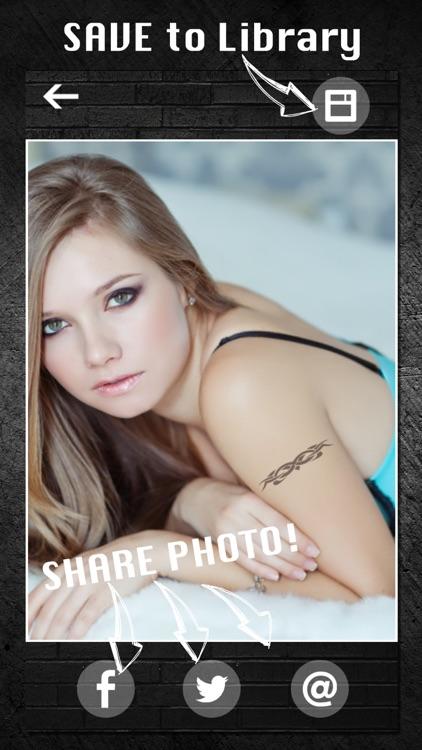 TattooGram - Tattoos on your photo screenshot-3