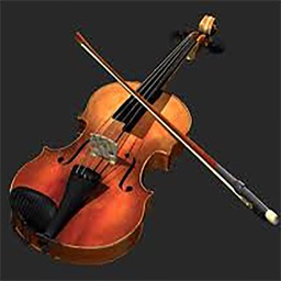 violin pro musical instrument with accord and rhythm