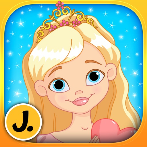 Princesses, Mermaids and Fairies - puzzle game for little girls and preschool kids