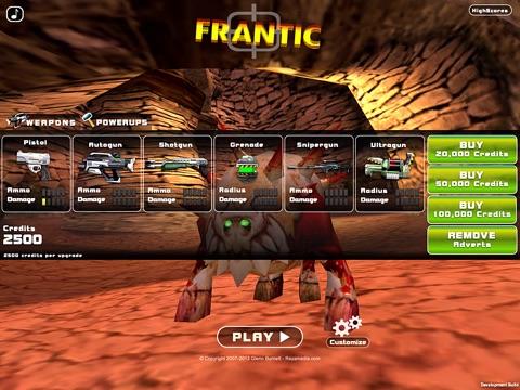 Скачать игру Frantic: Monster Shooter!