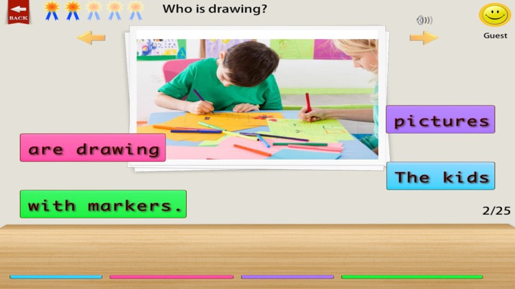 Comprehension Builder 2 - WH Question App for English Language Learning and Speech Therapy screenshot-0