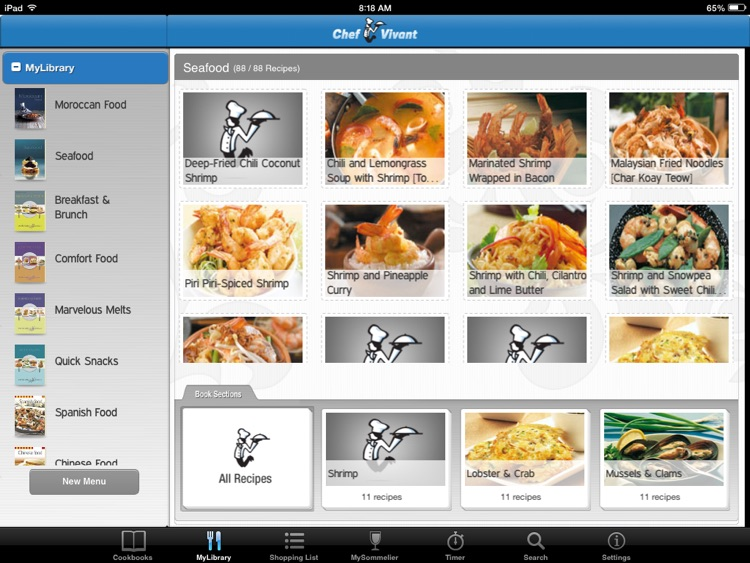 Chef Vivant – Customizable, Interactive eCookbooks