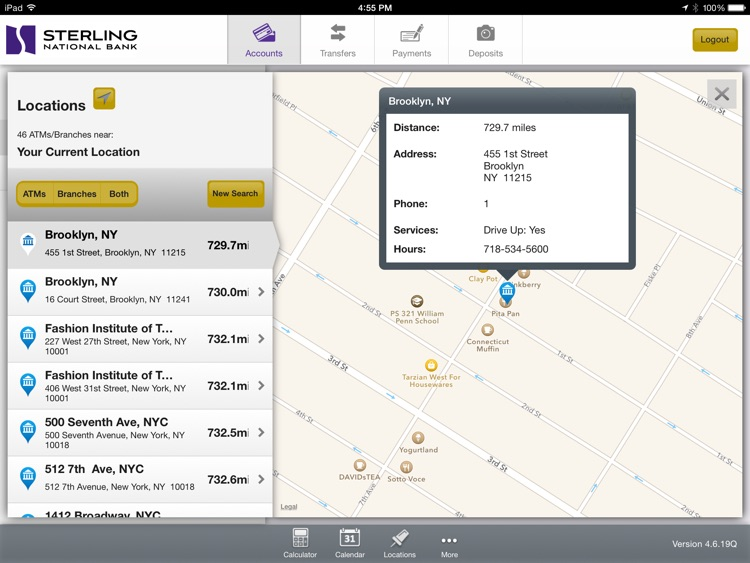 Personal Mobile Banking for iPad screenshot-4