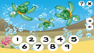 123 Counting Games For Kids With Open Sea animals Screenshot on iOS