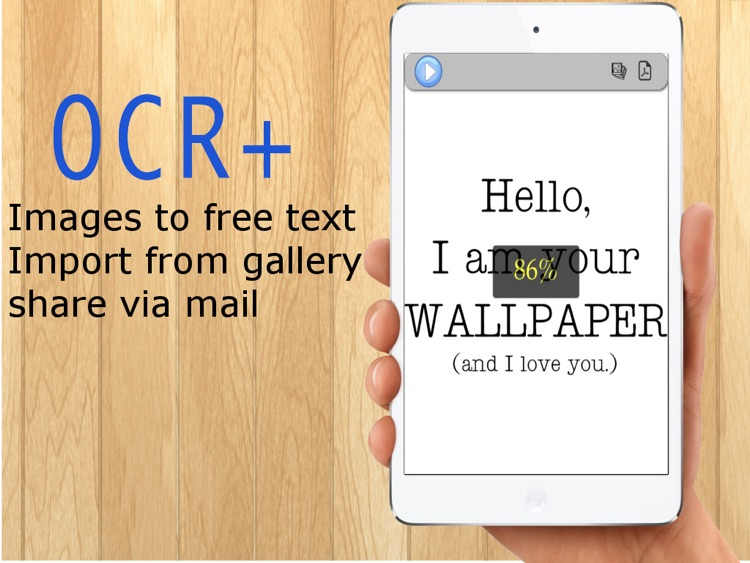 OCR+ - Image to text converter, PDF documents to text screenshot-3