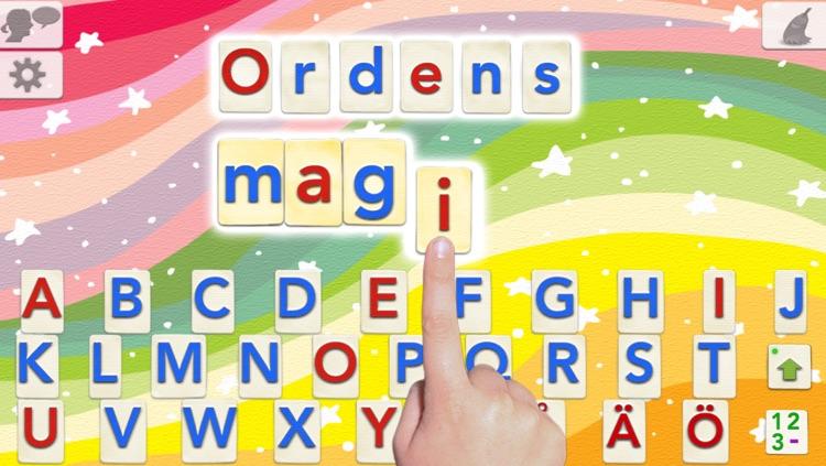 Swedish Word Wizard - Talking Movable Alphabet + Spelling Tests screenshot-0