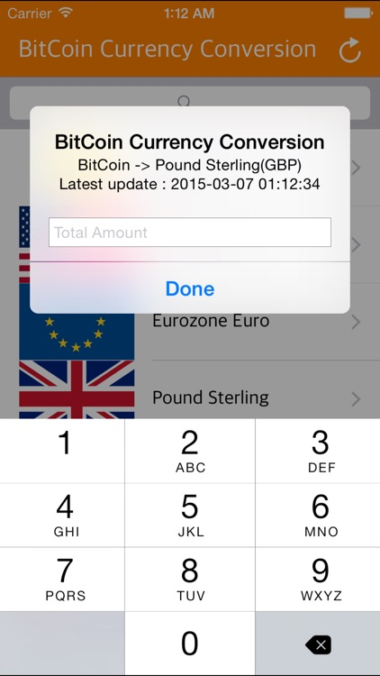 BitCoin Pro - Realtime Bitcoin Currency Convertor