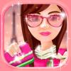 Paris Dress Up Game for Girls – Makeup and Fashion Dressing Up Fantasy Makeover Games
