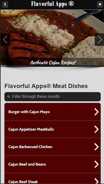 Cajun Recipes from Flavorful Apps®