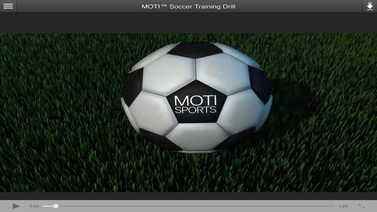 MOTI™ 3D Soccer Drill Package for Beginning Youth Soccer Players & New Coaches