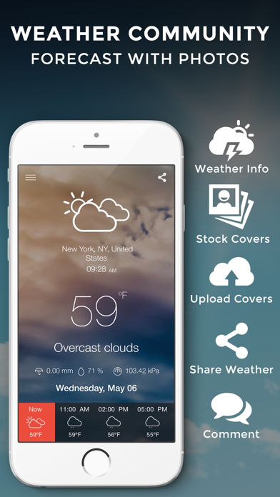 download Climasky Lite - Photo Weather Sharing apps 1