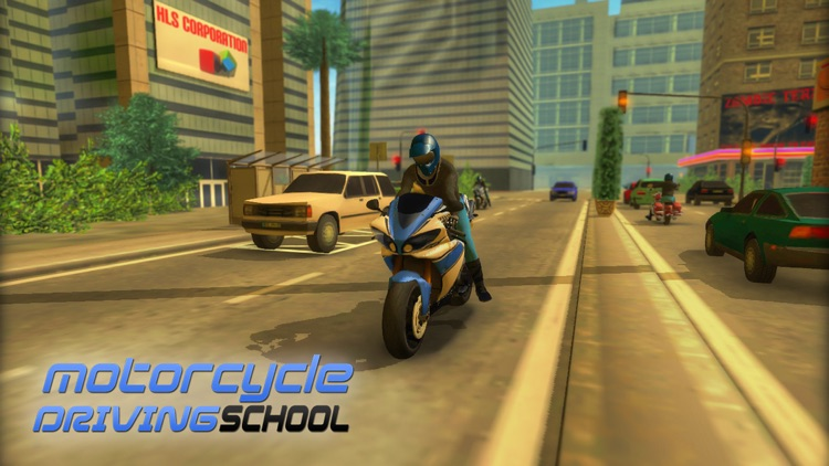 Motorcycle Driving 3D screenshot-0