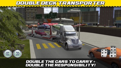 Screenshot from Car Transport Truck Parking Simulator - Real Show-Room Driving Test Sim Racing Games