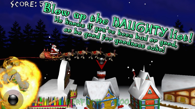 Christmas Run! Angry Santa's Revenge! FREE screenshot-0