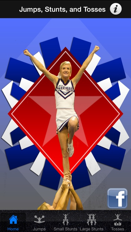 Cheerleading Stunts, Tosses, and Jumps!