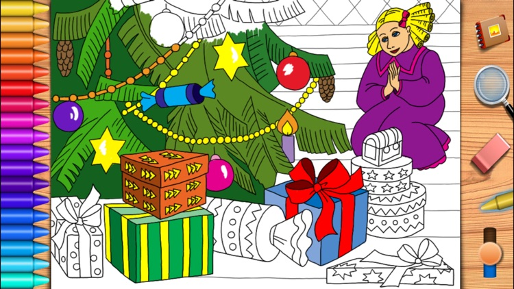 The Nutcracker and the Mouse King. Coloring book for children