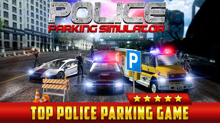 Police Car Parking Simulator Game - Real Life Emergency Driving Test Sim Racing Games screenshot-0