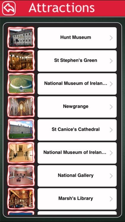 Ireland Offline Map Tourism Guide