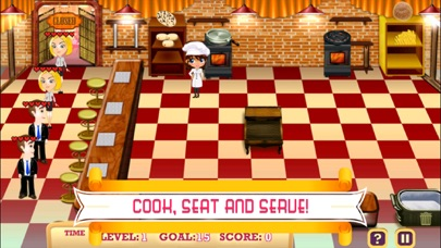 Fast Food Restaurant Cooking Rush