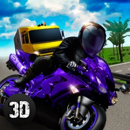 Moto Traffic Rider 3D: Speed City Racing