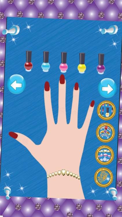 Princess Manicure & Pedicure - Nail art design and dress up salon game screenshot-4