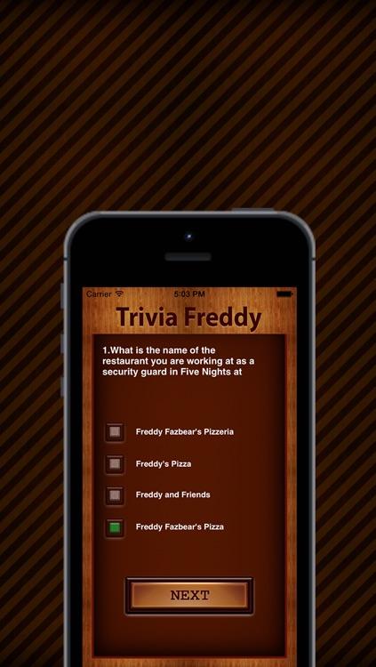 Trivia : Freddy & Friends