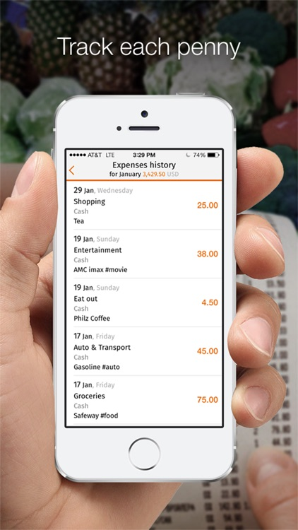 Expense tracker HomeMoney