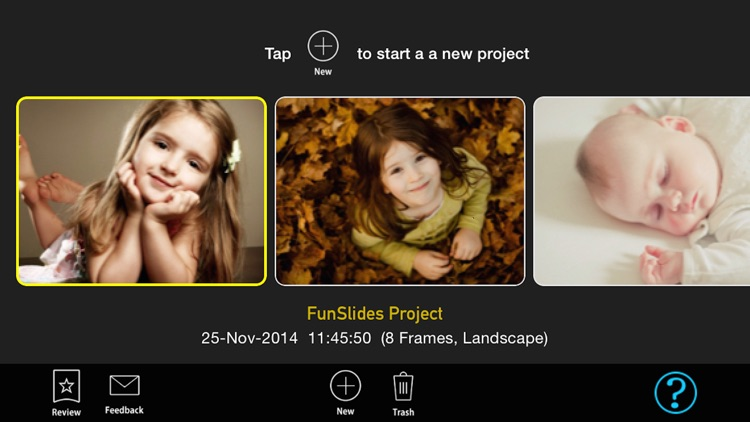 FunSlides - Make HD video from photos