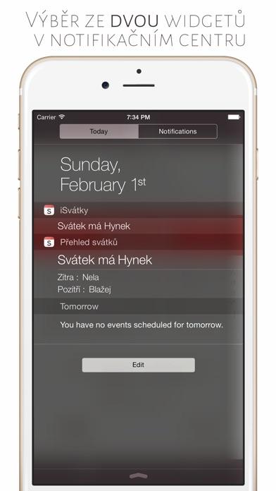 Screenshot for iSvátky in Czech Republic App Store