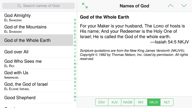 Names of God from The Bible screenshot-3