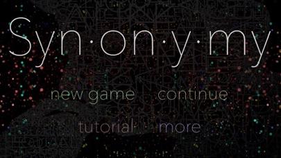 Synonymy screenshot1