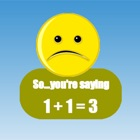 Math game education for fun boys and girls kids icon