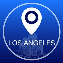 Los Angeles Offline Map + City Guide Navigator, Attractions and Transports