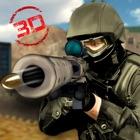 Sniper Guerreiro 3D: Guerra do deserto icon