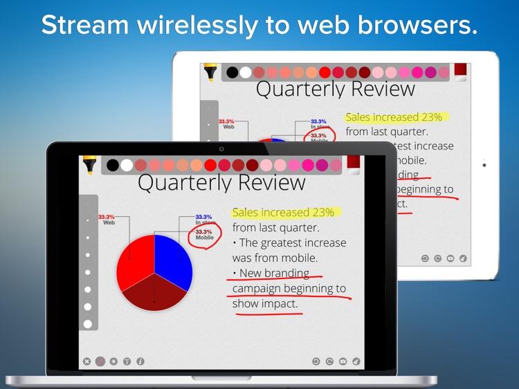 Presentation Maker - Interactive wireless deck designer screenshot-4