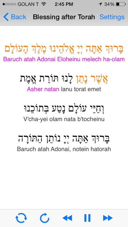 iBless Torah screenshot-1
