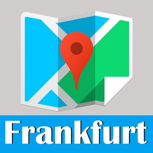 Frankfurt Map offline,BeetleTrip Frankfurt U-bahn S-bahn subway metro street pass travel guide trip route planner advisor