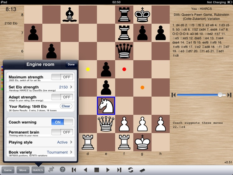 HIARCS Chess for iPad screenshot-3