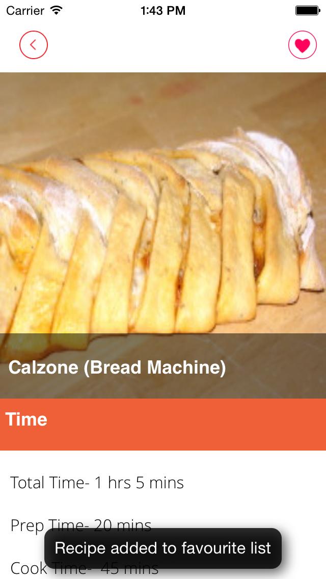 Italian recipes free screenshot three