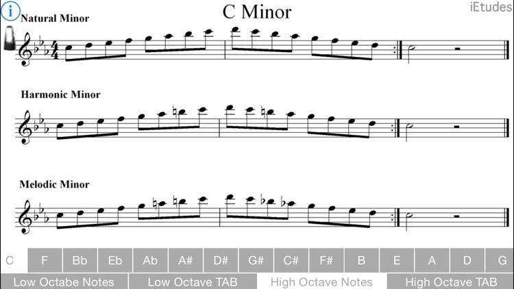 Minor Scales Guitar screenshot-3