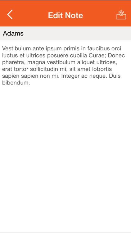 Contact Manager for Maximizer CRM screenshot-3