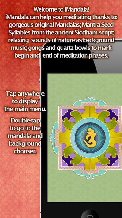 iMandala - Mandala Meditation, Relaxing Sounds, Visuals screenshot two